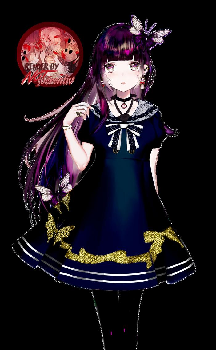 Anime girl render 46 (Eiri) by NotSoCreativ