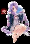 Anime girl render 48 (Houkago no Pleiades)