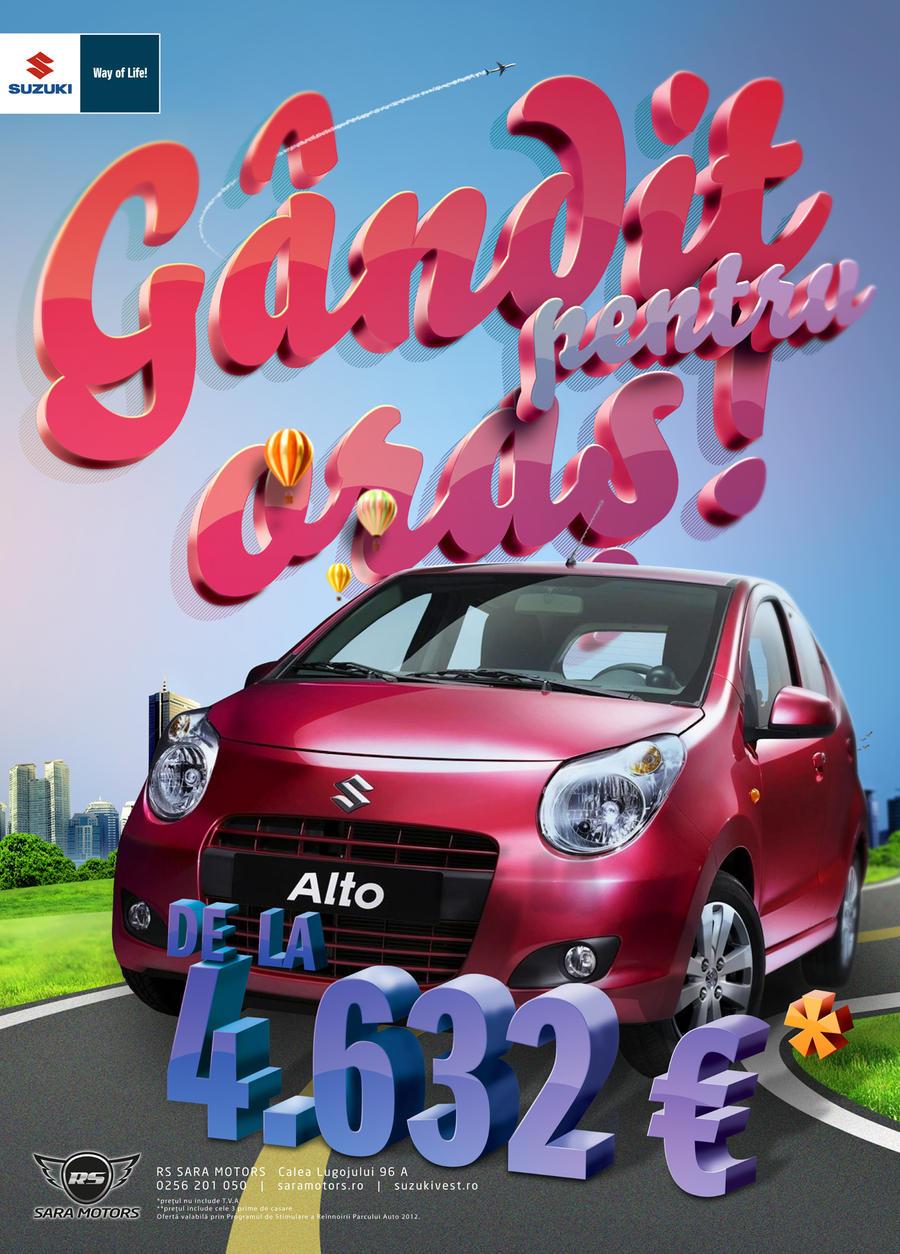 Suzuki Alto by LokiMuje