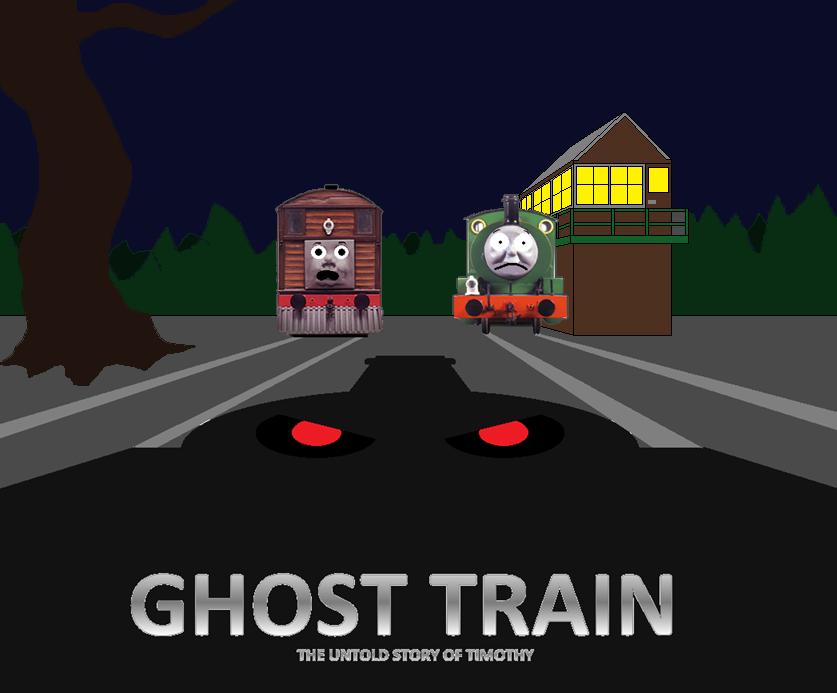 Scary Story Timothy Ghost Train Sodor – Fondos de Pantalla