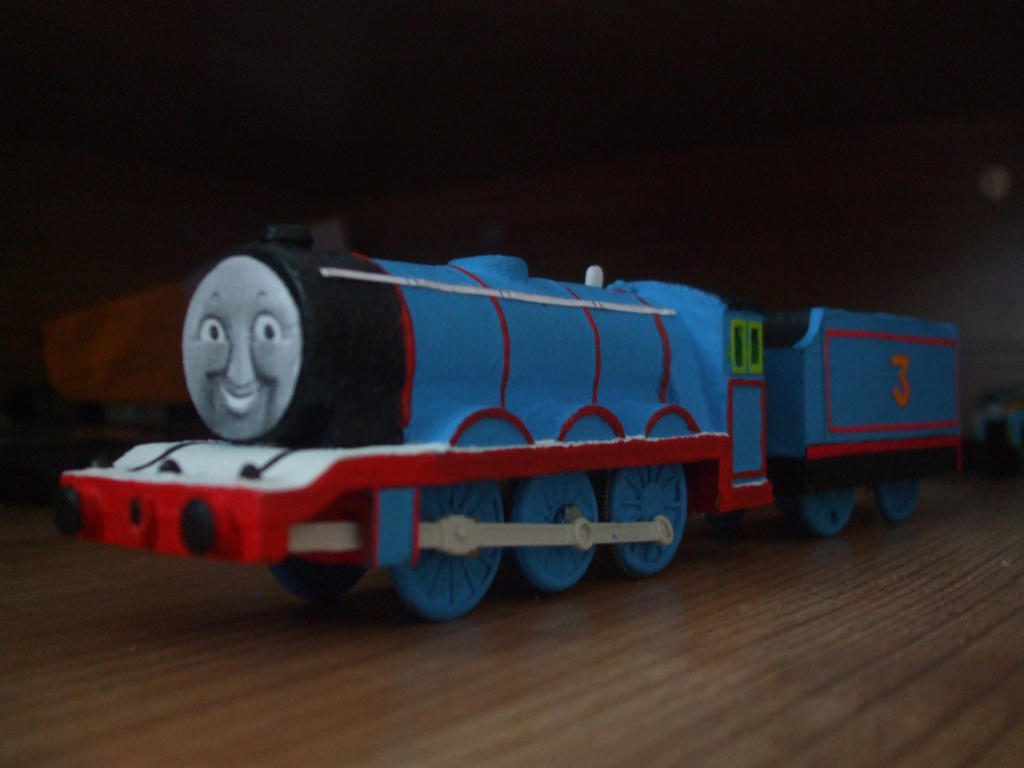 Henry Old Shape Blue Livery By Gbhtrain On Deviantart