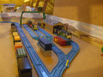 Container Termional tomy layout