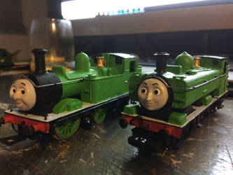 Hornby TVS/RWS Duck and Oliver WIP by GBHtrain