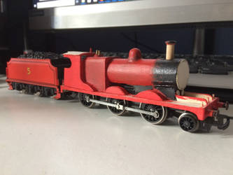 Custom Hornby James Body Shell WIP 2 by GBHtrain