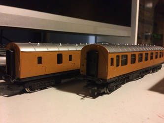 Hornby NWR Express Coaches WIP by GBHtrain