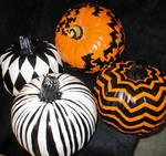 Hand Painted Pumpkins!
