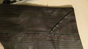 A Little Leather weaving