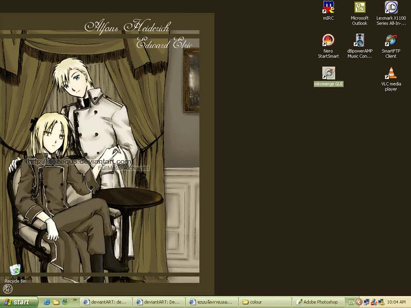 FMA : desktop by dezequs