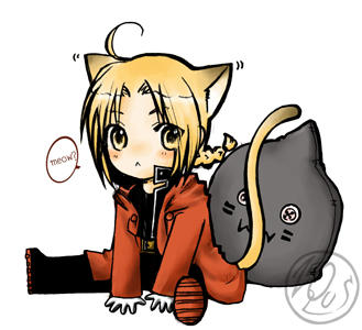 FMA : chibi cat by dezequs