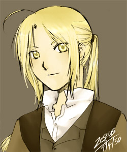 FMA: Edward Elric by dezequs