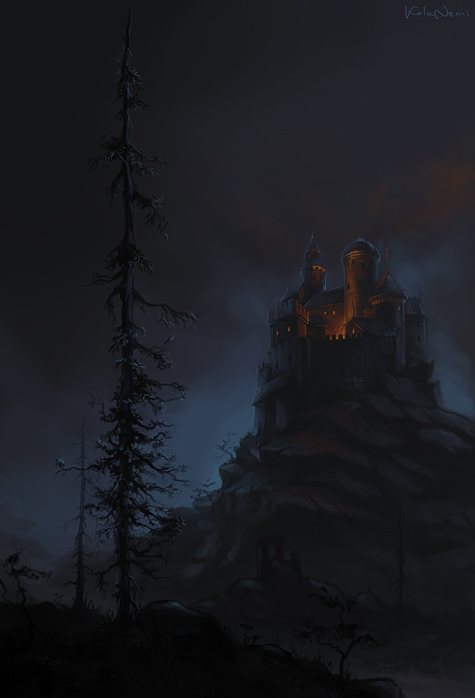 castle on the hill by KalaNemi