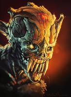 demon head by KalaNemi