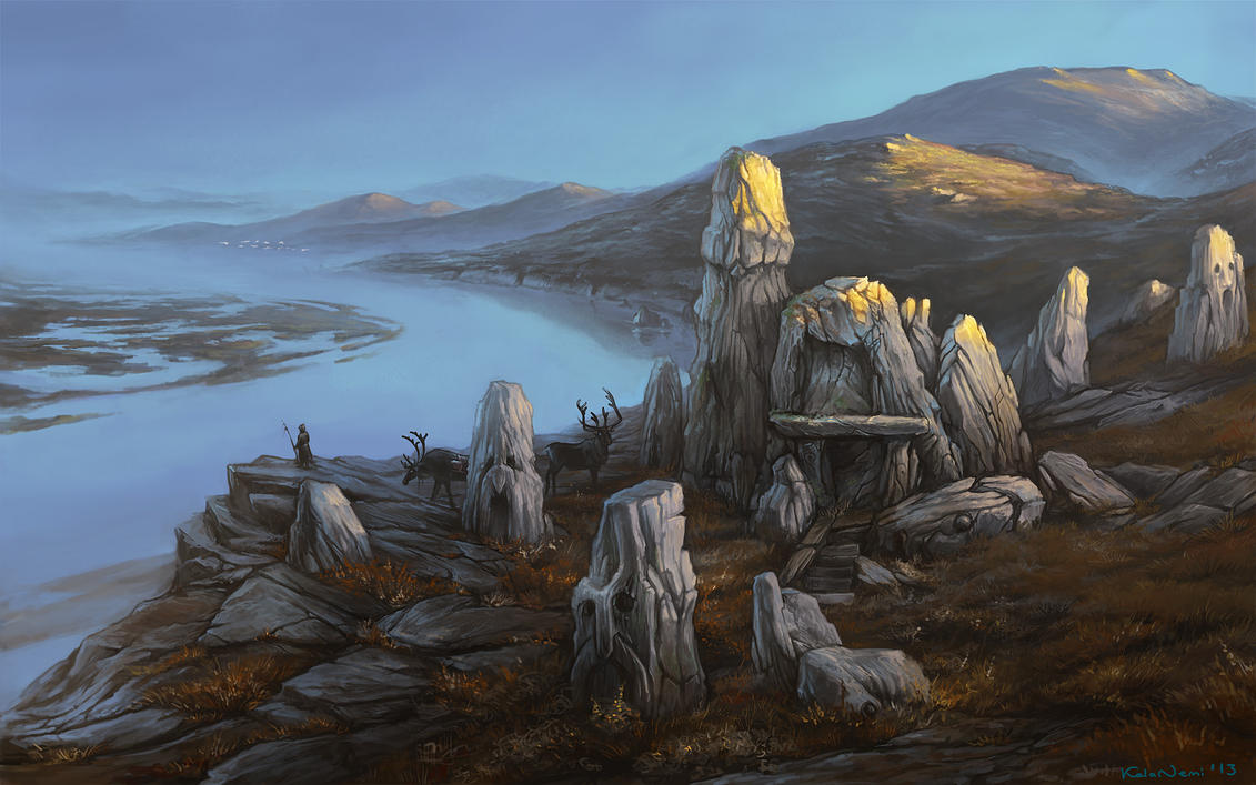 land of forgotten gods by KalaNemi
