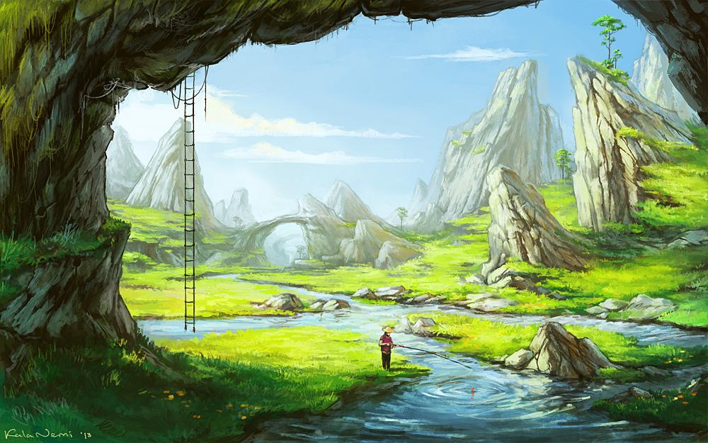 Fishing by KalaNemi