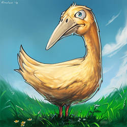 a proud bird