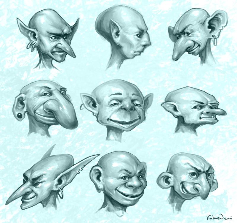 Goblins by KalaNemi