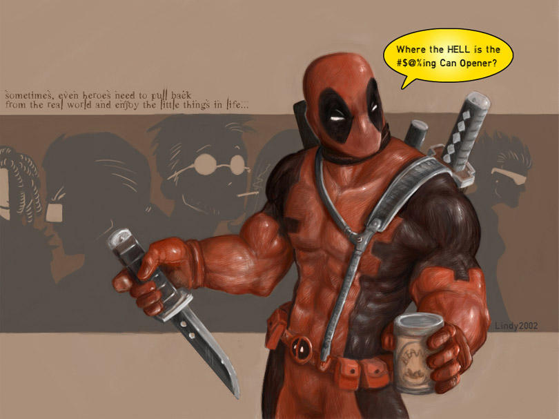 Deadpool by PsychedelicMind