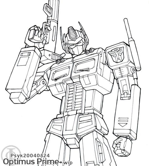 Optimus Prime Inking Reject By PsychedelicMind