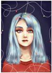 Digital art : digital painting - portrait