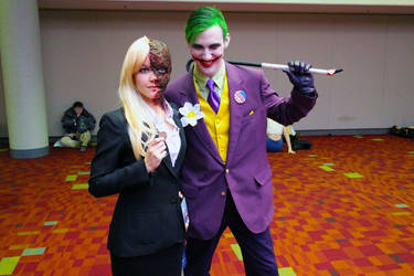 Joker and Two Face by RooftopLullaby