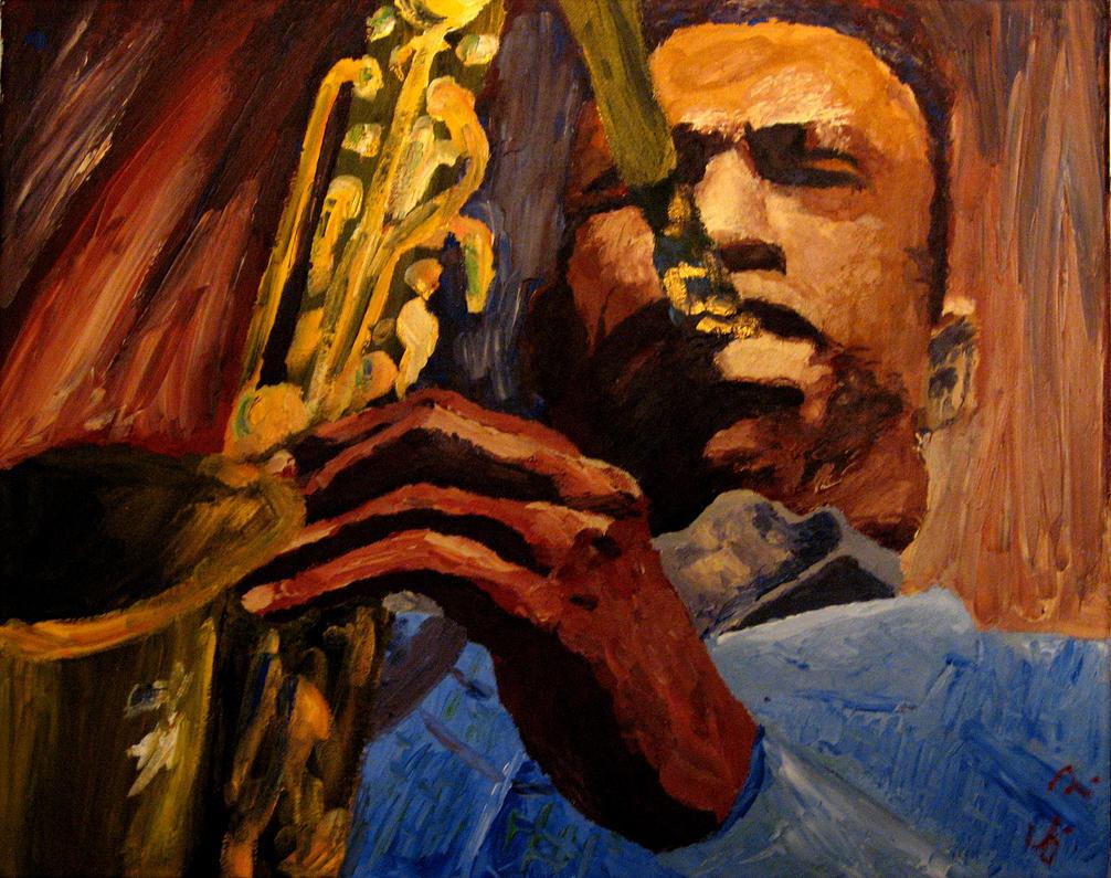 Coltrane impression by samfrei