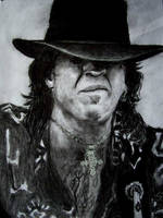 Stevie Ray Vaughan Solo Face by samfrei