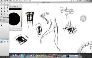Bored on sketchbook...