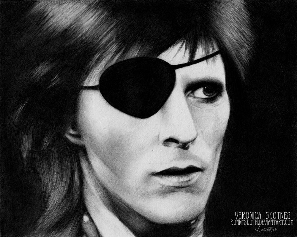 David Bowie by RonnySkoth