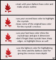 Pixel Crystal Tutorial by Brahkest