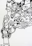Adventure time doodle