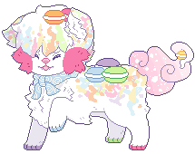 [C] Colourful macarons by Zilverlovely