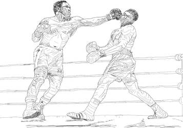 [Y1:SBT]Ali Frazier 'Trace Study' by SpazzCreations