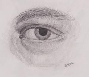 [Y1:SBT]Eye Study by SpazzCreations