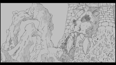 [Y1:SBT]Greyskull Study by SpazzCreations
