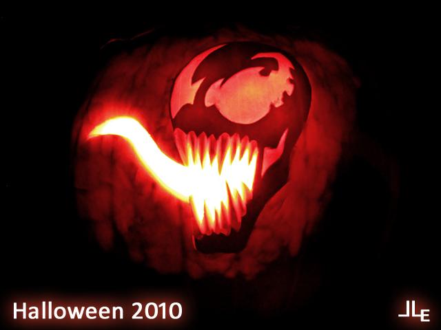 Venom Jack o' Lantern by Jeison-ree