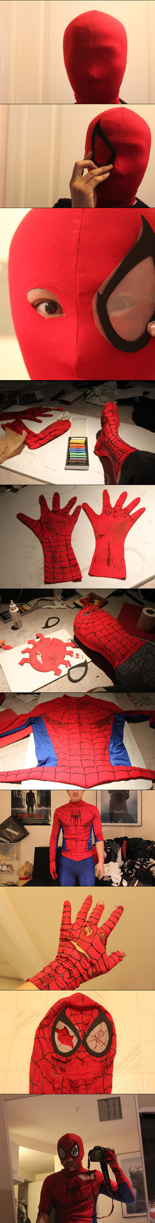 Zombie Spider-Man [process] by Jeison-ree