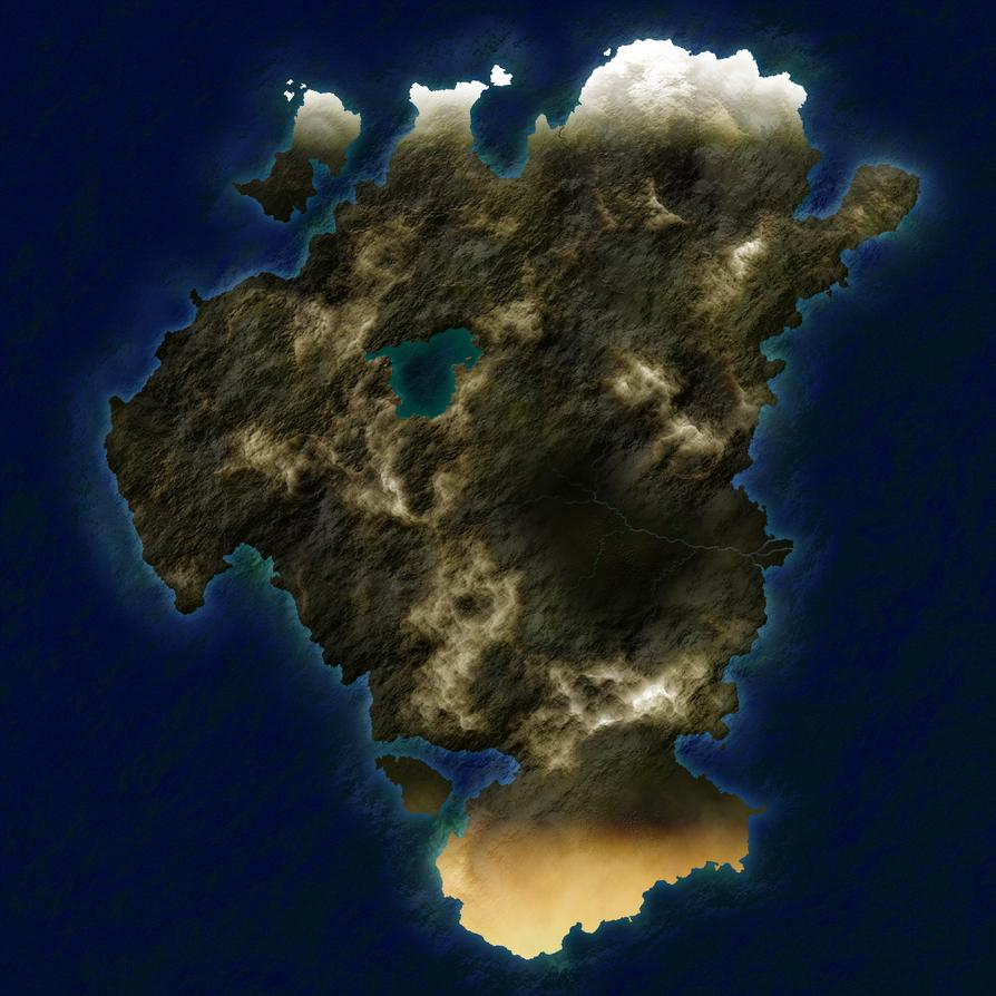 Unlabeled Continent by SevenBridges