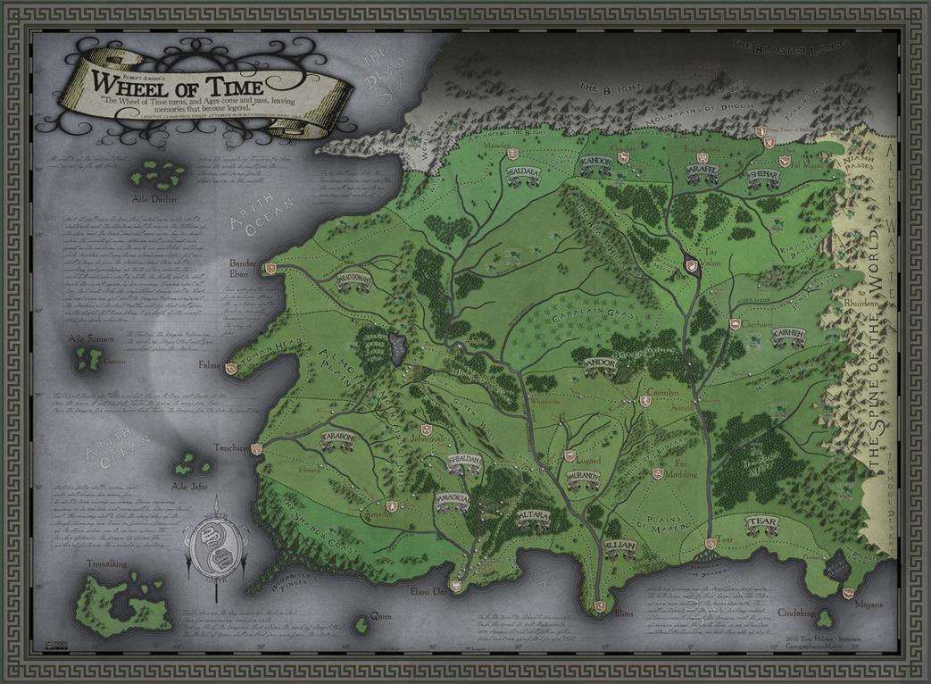 Wheel of Time - Western Lands by SevenBridges on DeviantArt