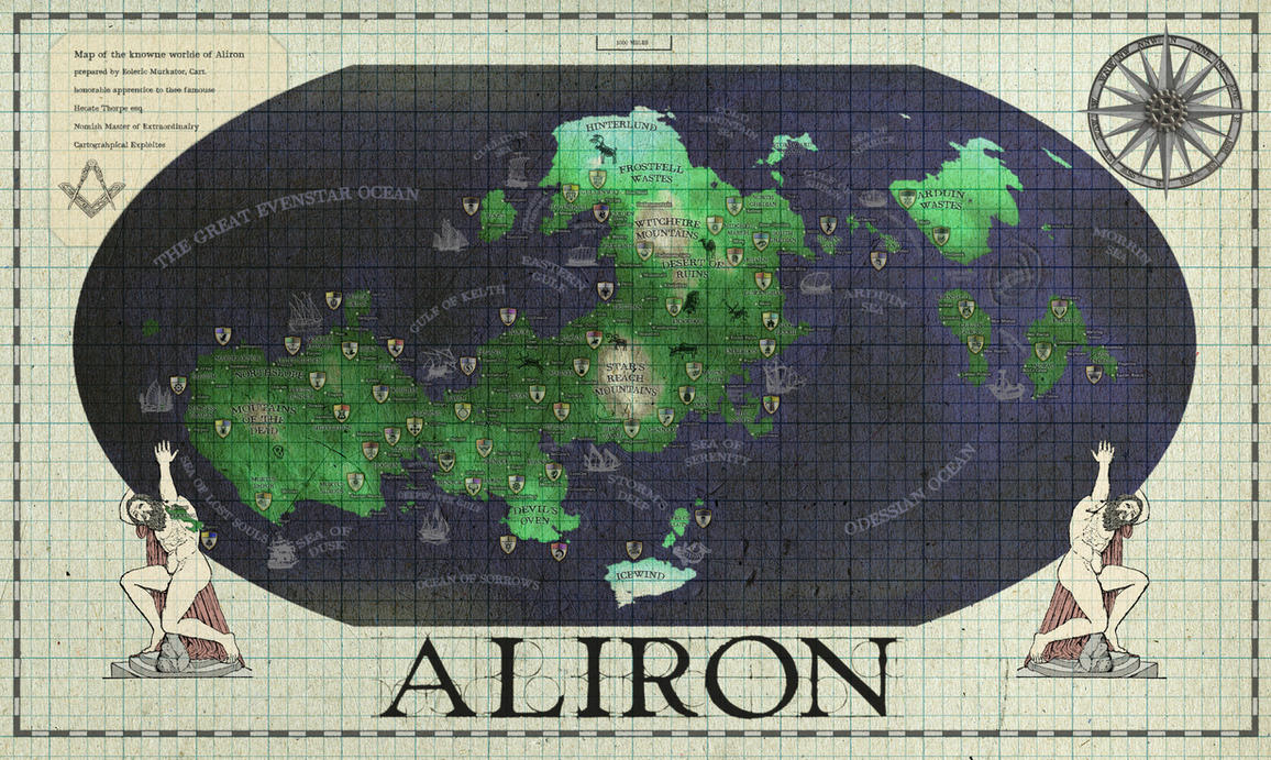 The Ancient World of Aliron by SevenBridges