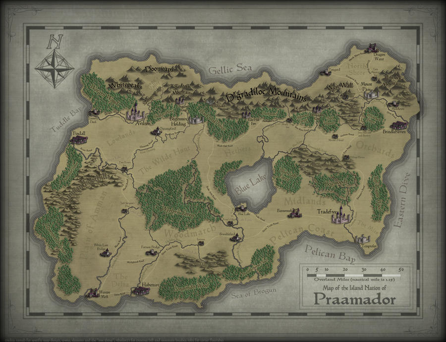 The Island Nation of Praamador by SevenBridges