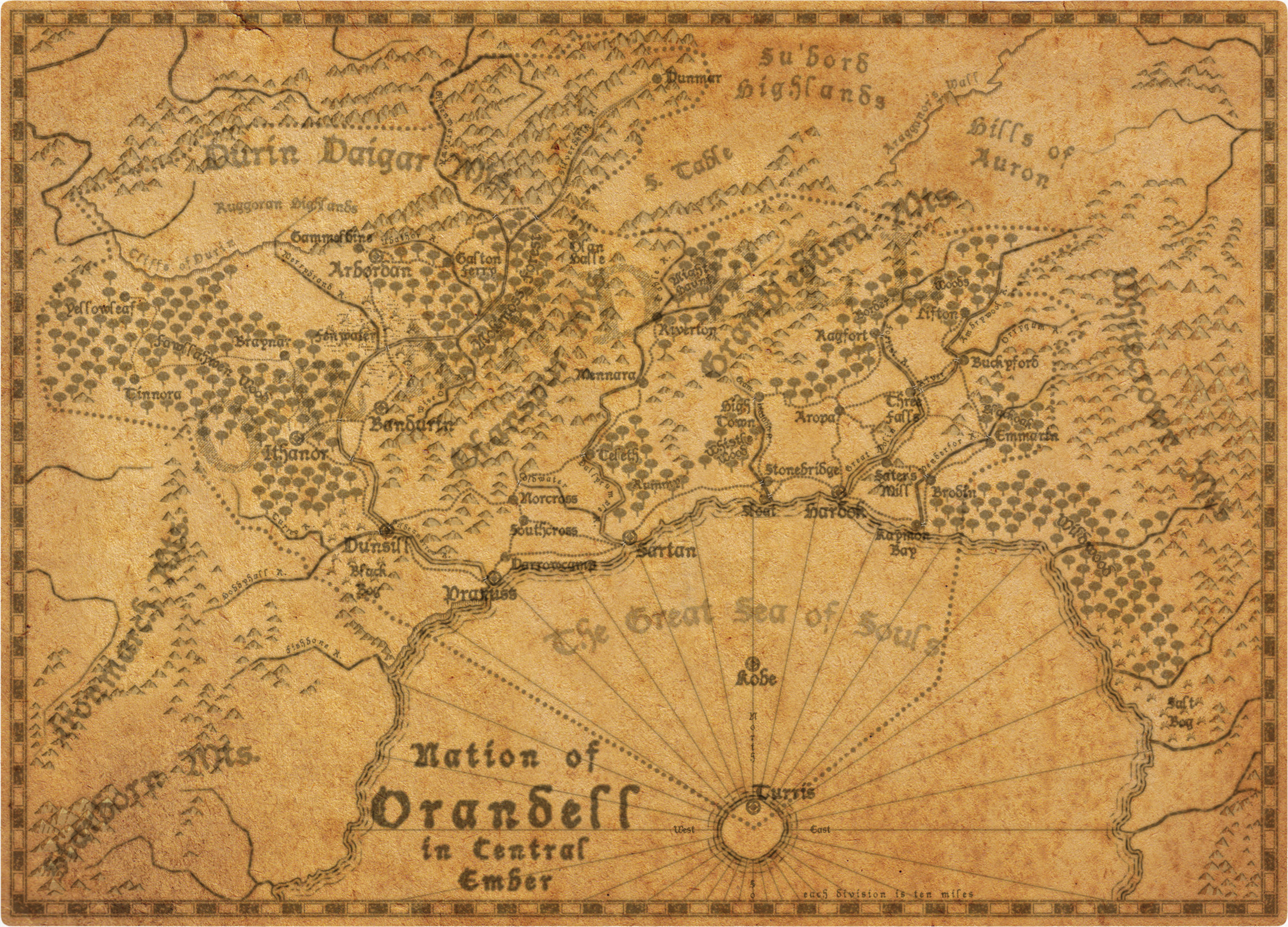 The Nation of Orandell in Ember by SevenBridges
