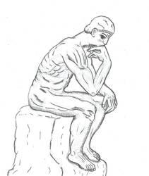 Thinker by benjaminkunst