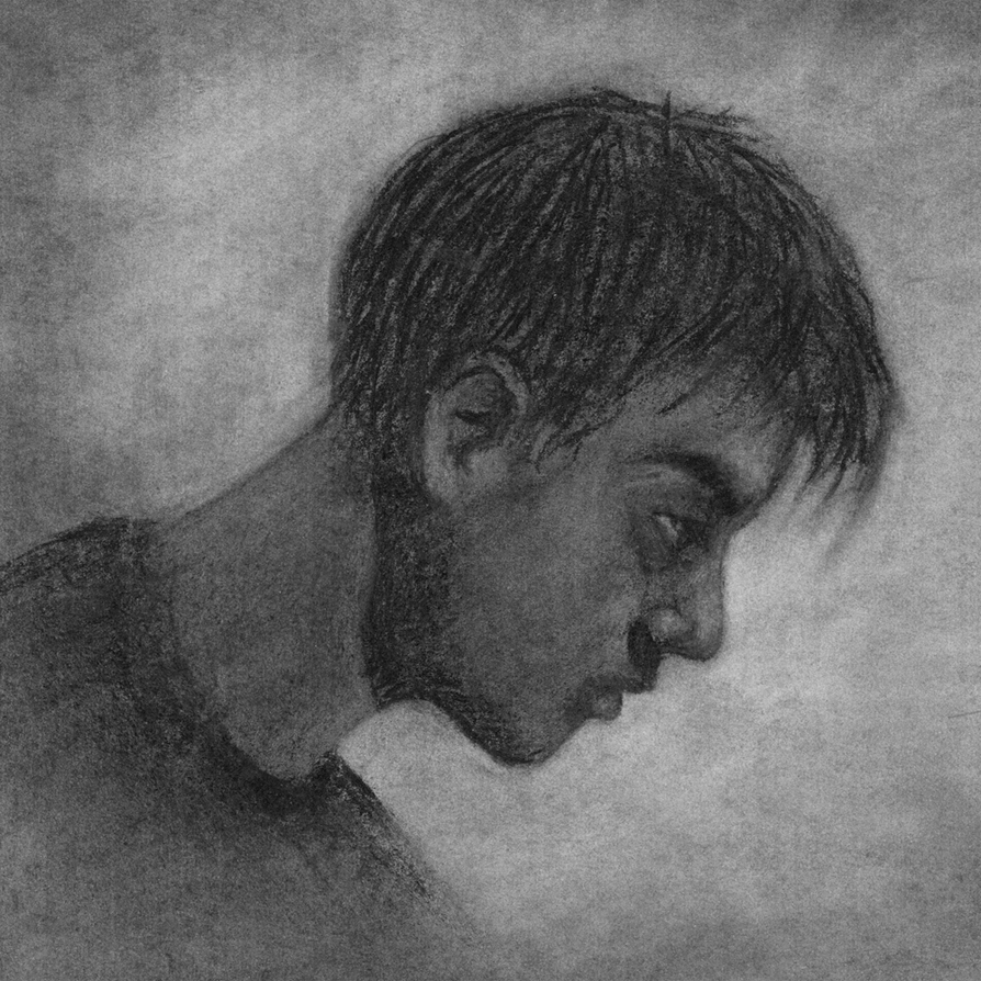 Charcoal Study by thegroon
