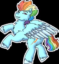 Rainbow Dash (+ Speedpaint)