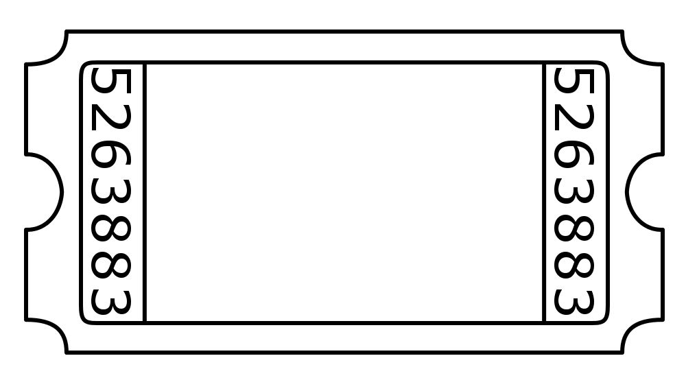 Blank admission ticket by janettebernard on deviantart for Entry tickets template