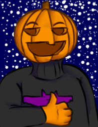 Ready for Halloween my dudes by Salmamander
