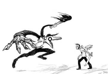 Evil Batter v Zacharie by Gautselin