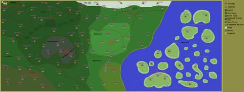 Map Of Aklalan