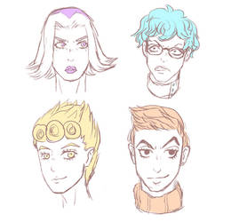 some lads by Snorlaxin