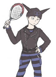 that's a whole tennis pro by Snorlaxin